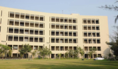 Back View - Campus Building