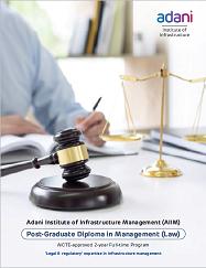 Program Brochure - PGDM (Law) Batch 2019-21
